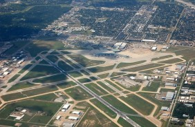 Aerial View of Houston Hobby