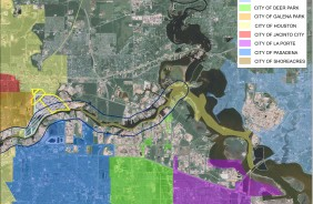 Houston Ship Channel Map